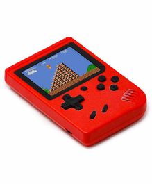 Fiddlerz Handheld Game Console 400 Video Games - Red