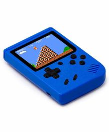 Fiddlerz Handheld Game Console 400 Video Games -Blue