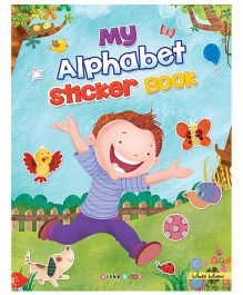 My Alphabet Sticker Book - English