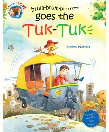 Brum-brum-brrrr Goes The Tuk-Tuk Story Book - English