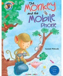 The Monkey And The Mobile Phone Story Book - English