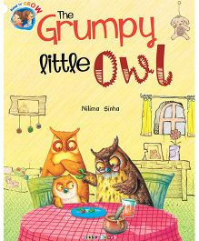 The Grumpy Little Owl Story Book - English