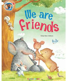 We Are Friends Story Book - English