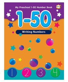 1 to 50 Writing Numbers - English