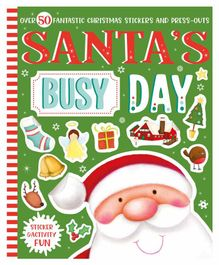 Parragon Santa's Busy Day Sticker & Activity Book - English