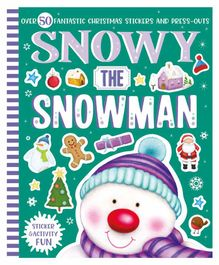 Parragon Snowy the Snowman Sticker & Activity Book - English