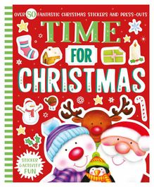 Parragon Time for Christmas Sticker & Activity Book - English