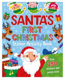 Parragon Santa's First Christmas Sticker Activity Book - English