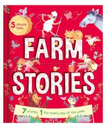 Parragon 5 Minute Farm Stories - English
