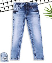 Sodacan Shaded Full Length Denim Jeans - Blue