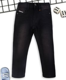 Sodacan Shaded Full Length Denim Jeans - Black