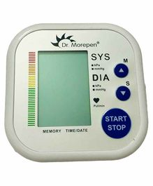 Dr Morepen BP-02 Blood Pressure Monitor - White