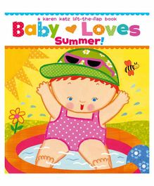 Simon & Schuster Baby Loves Summer Flap Book - English
