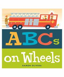 Simon & Schuster ABC's On Wheels Book - English