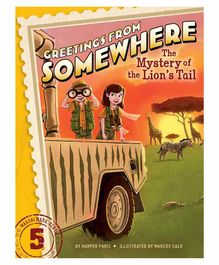 Simon & Schuster The Mystery of Lion's Tail Book - English