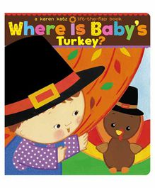 Simon & Schuster Where Is Baby's Turkey Board Book - English