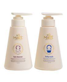 Maate Baby Cleansers Combo Body Wash And Hair Cleanser - 250 ml Each