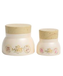 Maate Baby Face And Body Butter Moisturizer Pack of 2 - Beige