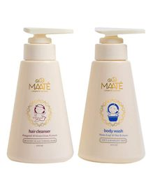 MAATE Baby Hair Cleanser Pack Of 2 - 250 ml Each