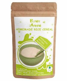 Baby Aahar Homemade Rice Cereal - 200 grams