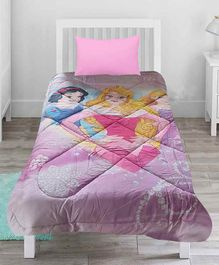 Pace Disney Princess Theme Comforter - Light Pink