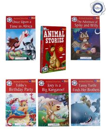 Firstcry Intellitots Preschool Animal Stories Set of 5 - English