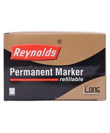 Reynolds Permanent Marker Pen Pack of 10 - Blue