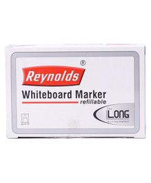 Reynolds Whiteboard Marker Pen Pack of 10 - Blue