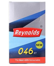 Reynolds 046 RT Ball Point Pen Pack of 20 - Blue