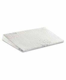 The White Willow Baby Crib Wedge Pillow -White