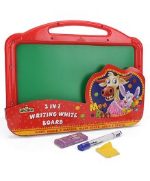 Mr Clean 2 In 1 Writing White Board - Red