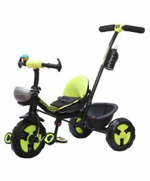 Trifox Plug n Play Tricycle with Parent Push Handle - Green