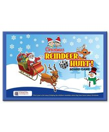 Creativity 4 Tots Reindeer Hunt Christmas Board Game - Multicolor