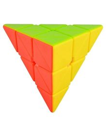 Fiddly's 3 x 3 Pyramid Puzzle Cube - Multicolour