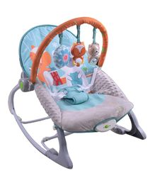 Infantso Vibrating Baby Rocker And Bouncer - Blue