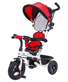 R for Rabbit Tiny Toes Striker Tricycle - Red Black