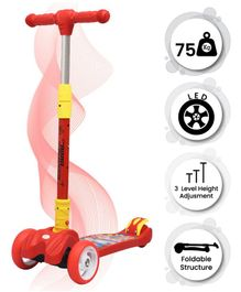 R for Rabbit Road Runner The Smart And Smooth Kids Scooter - Red