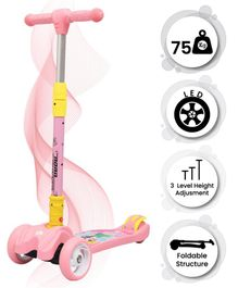 R for Rabbit Road Runner Kids Scooter - Pink