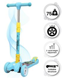 R for Rabbit Road Runner Kids Scooter - Blue