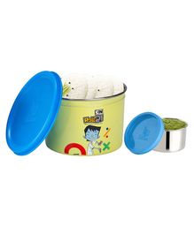 Falcon Dura Snack Container Green - 450 ml
