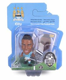 Soccerstarz Manchester City Raheem Sterling Figure Toy - 4 cm