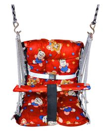 VWorld Soft Cotton Swing for Kids - Red