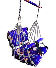 VWorld Soft Cotton Swing for Kids - Blue