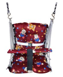 VWorld Soft Cotton Swing for Kids - Brown