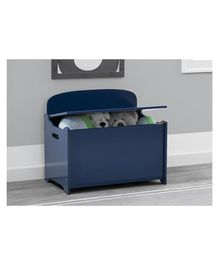 Delta Children MySize Deluxe Toy Box - Navy