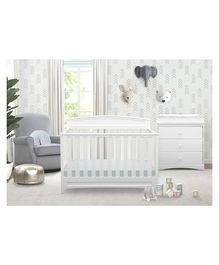 Pace Delta Children Sutton 4 in 1 Crib - White