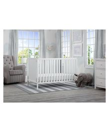 Pace Delta Children Heartland 4 in 1 Crib - White