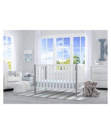 Pace Delta Children Milo 3 in 1 Crib - White
