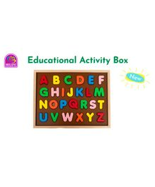 HILIFE English Capital Letter Puzzles - 26 Pieces