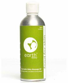 earthBaby Ayurvedic Massage Oil - 250 ml